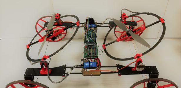 HOOPBOT – Robot jeżdżący po ścianach