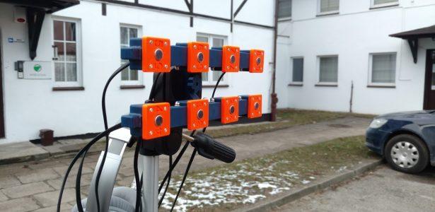 Macierz mikrofonowa dla PICTEC